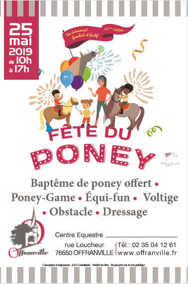 flyer  fêtes du poney